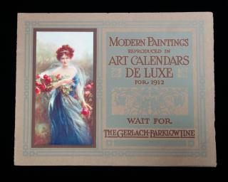 Modern Painting Reproduced in Art Calendars de Luxe for 1912