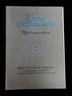 Tycos Instruments Hydrometers