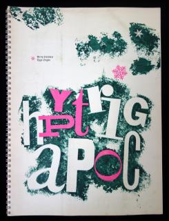 Typo Graphic .  . Typo Graphic  . Pittsburgh, Pennsylvania . December, 1960