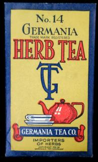 No. 14 Germania Herb Tea. ..