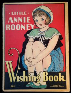 Brandon Walsh Little Annie Rooney Wishing Book.  Light separation and edge tears cover. 1932