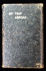 My Trip Abroad, travel log for the S.S. Minnekahda, 1929