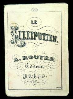 Le Lilliputien . A Rouyer, Editeur, Paris. No. 359 - Handwork Patterns Secular Subject Matter, April 1877. ..