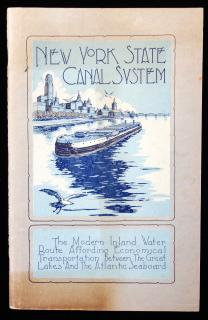 New York State Canal System; The Modern Inland Water Route Affording Economical Transportation Between the Great Lakes And the Atlantic Seaboard. January 1931.  .
