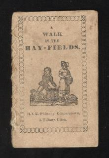 A Walk in the Hay-Fields .H & E Phinney . Cooperstown . c1830s