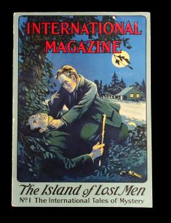 The International Tales of Mystery No.1 The Island of Lost Men: The Strange Happenings at Beaver Island.. International Magazine. New York. c1920s
