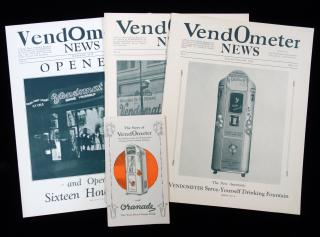 VendOmeter News journals and pamphlet, 1928. ..1928