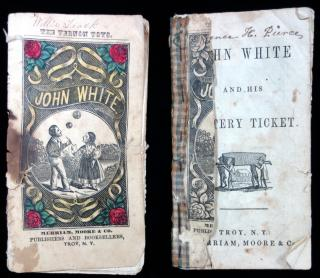 John White and his Lottery Ticket-pair with make-do repairs. Merriam, Moore, & Co.New York.n.d.