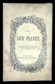 The New PlanetAmerican Sunday School UnionPhiladelphia1847