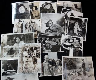 Fifteen (15) Press Photos - Osa  & Martin Johnson -Motion Picture Explorer  and Adventurer . ..1930-1939