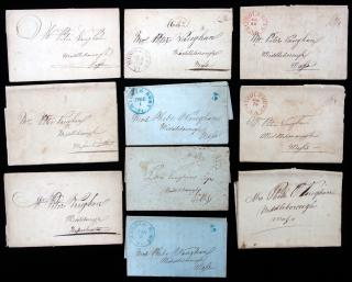 Series of Family letters from Rebecca (Morton) and Gideon Carpenter of Vermont to Phebe (Morton) and Peter Vaughan of Middleborough, Massachusetts, 1827-1848. ..