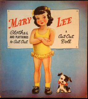 Mary Lee clothes and playthings to cut out: A Cut-Out Doll.