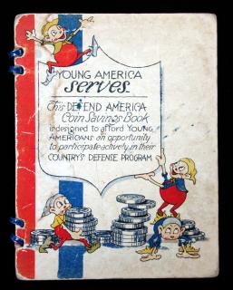 Genevieve BurkeYoung America Serves; This Defend America Coin Savings Book is Designed to Afford Young Americans an Opportunity to Participate Actively in their Country's Defense Program..ca1940's