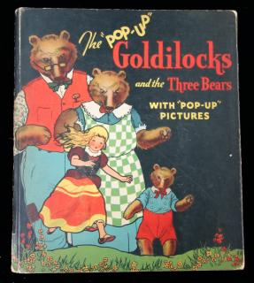 Goldilocks and the Three Bears, Illustrated by CCarey Cloud and Harold BLentzThe Illustrated Pop-Up EditionPleasure Books, Inc..Chicago.1934