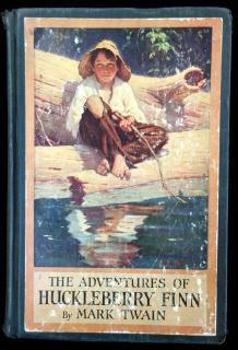Mark Twain . The Adventures of Huckleberry Finn (Tom Sawyer's Comrade). Harper & Brothers.New York .1923