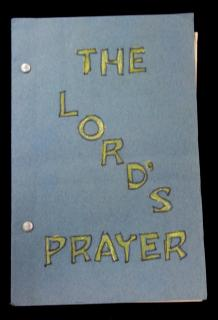 The Lord's Prayer: Children's Coloring Book, c1940s. ..c1940s