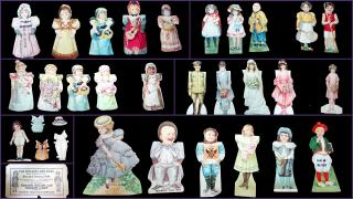 Collection of Thirty-Eight (38) Advertising Paper Dolls