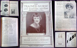 The Trained Nurse and Hospital Review. Lakeside Publishing Co.New York.9741