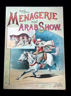 Circus Series: Menagerie and Arab Show. McLoughlin Brothers.New York.1890