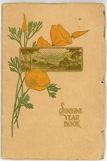 Compilers - International Sunshine Society.  Sunshine Year Book. Los Angeles Branch of the Sunshine Society.Los Angeles.1908