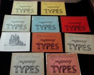 Chicago Times Portfolio of the Midway Types Vol. 2,3,4,5,6, 7 ,8,9,10 & 11. The American Engraving Co..Chicago.1893
