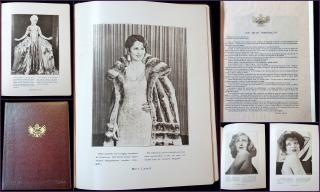 Elegant Promotional Piece for Sagell Cosmetics, Actresses and Testimonials. .Madrid & USA.c1920