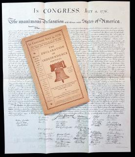 The Declaration of Independence Portfolio, Compiled and Published by The Ladies' Patriotic Society Co.,. The Ladies' Patriotic Society Co.,.Buffalo, NY.1899