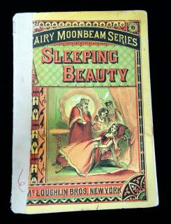 Fairy Moonbeam Series: Sleeping Beauty. McLoughin Brothers.New York.c1870