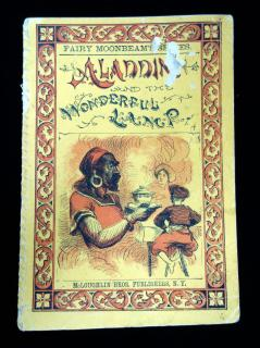 Fairy Moonbeam's Series: Aladdin and the Wonderful Lamp. McLoughin Brothers.New York.c1870