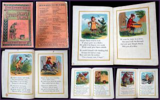 Story of Simple Simon from the Susie Sunshine's Series. McLoughlin Brothers.New York.c1900