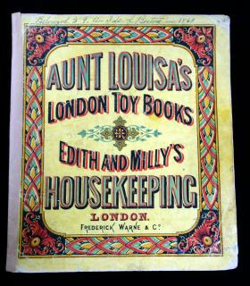 Aunt Louisa's London Toy Books, Edith and Milly's Housekeeping