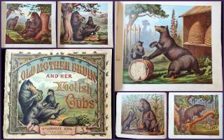 Old Mother Bruin and Her Foolish Cubs. McLoughlin.New YOrk.1874