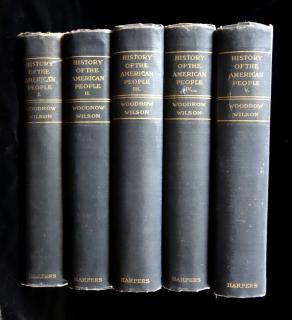 History of the American People, 5 Volume Set