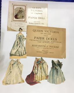 Elizabeth S. Tucker Queen Victoria of England Paper Doll . Frederick A. Stokes Company.New York.1895