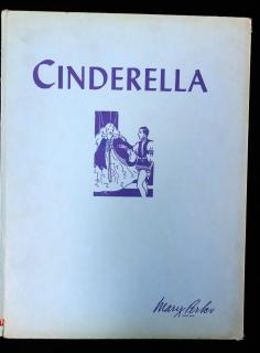 Marjorie Hardy and Emilie C. Bradbury Cinderella: retold for little children to read. The American Crayon Co..Sandusky, Ohio.1931, 1943