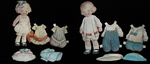 Paper Dolls & Costumes Dearie Dolls 1915