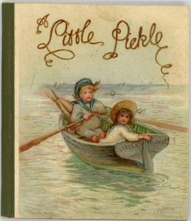 A Little Pickle No. 1395 Nister, c1905,  Miniature Book, Little & Good Library Series