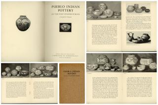 "Illustrated ""Pueblo Indian Pottery,"" Anthropology Lab., Santa Fe, NM, 1938"