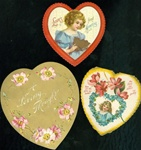 3 Heart Shaped Cards For Your Valentine Friends