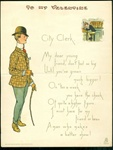 Vinegar Valentine with City Gentlemen Demeaning a County Clerk - Tuck