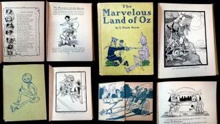 L. Baum Frank. The Marvelous Land of Oz, Being an Account of the Further Adventures of Scarecrow and Tin Woodman... A Sequel to the Wizard of Oz . Reilly & Britton Co.Chicago.1904
