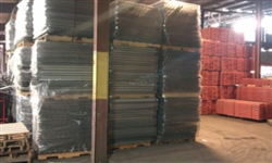 "Used Step Wire Deck 42"" Deep x 52"" Wide, Capacity 2,500 lbs."