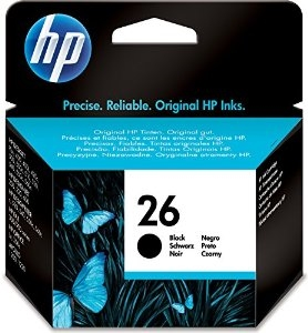 HP No. 26 Black Ink - 51626A