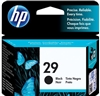 HP No. 29 Black Ink - 51629A