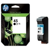 HP No. 45 Black Ink - 51645A