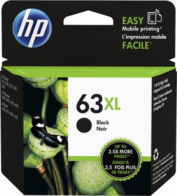 HP 63XL Black