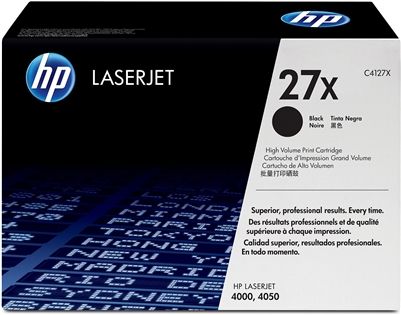 HP LJ 4000 Black Toner - C4127X