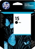 HP No. 15 Black Ink - C6615DN
