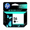 HP No. 56 Black Ink - C6656AN