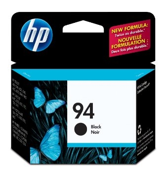 HP No. 94 Black Ink - C8765WN